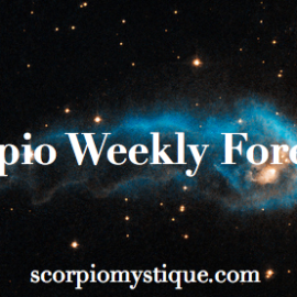 Scorpio Weekly Horoscope: 2/1/16 – 2/7/16